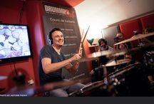 DAMIEN SCHMITT / May 29th 2015 in #Paris at Drumming Lab - 9 rue de L'Éperon - #Masterclass with DAMIEN SCHMITT.  #DrummingLab #Frédérick #Rimbert #thepowerofhistory #drumschool #drumlessons #skypelessons #billboard #drum #drums #drumming