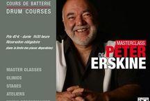 PETER ERSKINE / #Masterclass with #Peter #Erskine at #DrummingLab #Frederick #Rimbert #Paris