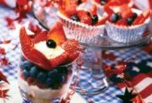 Patriotic Fun / Patriotic, healthy recipes and fun ideas for Fourth of July festivities.