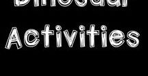DINOSAUR activities / Educational ideas, resources and activities for kids during a dinosaur unit. Includes printables and hands-on activities.