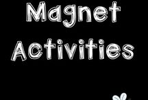 MAGNET activities / Ideas and resources for teaching kids about magnets during Science class. These activities are great for Kindergarten, Grade 1, Grade 2, and Grade 3 students.