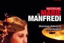 MARIE MANFREDI / Friday, September 25th, 2015 in #Paris at Drumming Lab - 9 rue de L'Éperon - #Masterclass with #Marie #Manfredi #drummer #batteuse