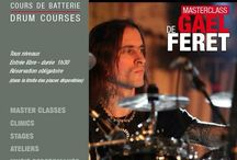 GAËL FÉRET / Friday, October 9th, 2015 in Paris at Drumming Lab - 9 rue de L'Éperon - #Masterclass with Gaël Féret.  #GaelFeret starts the #drums at the age of 6 years.  #Drummer to play with #Misanthrope #TripleFX #Octavion and Alternative Cult. Several albums, videos, tours in Europe, USA and Canada. Also made numerous studio and live sessions with #PatrickRondat among others Headline, Lyzanxia, Korum, Balrog, Whispered,  No Return... Works for #BatteurMagazine with a section dedicated to the #metal