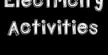 ELECTRICITY acivities / Activities for kids to complete during an electricity unit. Lesson plans, science projects and electricity ideas for classroom teachers and students.