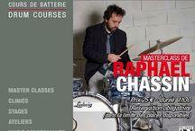 RAPHAEL CHASSIN / Raphael Chassin #drummer #batteur at #DrummingLab #Paris  #drumschool #drumlessons (Frederick Rimbert)