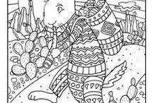 Coloring Pages / Lots and lots of coloring pages and other activities created by illustrator Mark A. Hicks (www.whimicalillustrator.com)