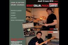 """BENOIT COLLIN and PASCAL SARFATI / COLLIN  and SARFATI present a panoramic overview on how to use, as well as an analysis of the construction and the concepts behind their method. The presentation cover examples from the book and in the hétérogènes styles.  From the Library: """"grooves rythmes asymetriques basse/batterie"""" (Playmusic Publishing www.play-music.com)"""