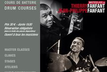 """Thierry et Jean Philippe FANFANT / Wednesday, April 6th, 2016 h.20,30 in Paris at Drumming Lab - 9 rue de L'Éperon - Masterclass """"Culture Rythme"""" with Thierry Fanfant and Jean-Philippe Fanfant"""
