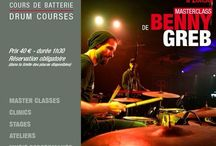 BENNY GREB / Benny Greb - Masterclass #drummer #batteur at #DrummingLab #Paris  #drumschool #drumlessons Frederick Rimbert