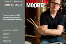 STANTON MOORE / Tuesday, July 5th, 2016 h.14,00 in #Paris at Drumming Lab - 9 rue de L'Éperon - #Masterclass with STANTON MOORE #drummer.  #DrummingLab #Frederick #Rimbert #drumschool #drumlessons #drumming