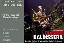 OLIVIER BALDISSERA / OLIVIER BALDISSERA - Masterclass - Friday, September 16th, 2016 h.20,30 in #Paris at #DrummingLab - 9 rue de L'Éperon -