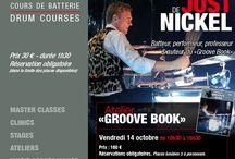"""JOST NICKEL / The great #drummer #Jost #Nickel  in Paris at #DrummingLab - 9 rue de L'Éperon - two events:  1. a workshop about his method """"Groove Book"""" (h.10,30--->h.15,30);  2. h.20,30 clinic!!"""