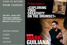 """MARK GUILIANA / The great #drummer #Mark #Guiliana and his method """"Exploring your Creativity on The Drumset"""" will be in Paris. Wednesday, October 19th, 2016 at #DrummingLab - rue de L'Éperon - #Frederick #Rimbert #batteur #drumschool #drumlessons #drumming #drumlife"""