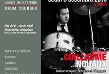 GUILLAUME NOUAUX / #Guillaume #Nouaux #drummer -  Masterclass - Thursday, December 8th, 2016 in #Paris at #DrummingLab -rue de L'Éperon - #Frederick #Rimbert #batteur #drumschool #drumlessons #drumming #drumlife #drummers