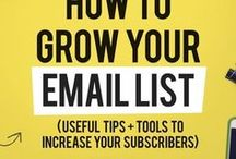 Biz Women {Email Marketing Tips} / grow your email list, how to grow your list, grow your list
