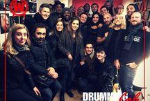 WIKIDRUMMER party 2016 / Grosse soirée #Wikidrummers & #DrummingLab avec la fine fleur du #drumming français.