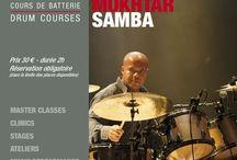 MOKHTAR SAMBA / Thursday, January 18th, 2018 h.20,30 in Paris at Drumming Lab - 9 rue de L'Éperon MOKHTAR SAMBA!!! . Drummer and percussionist, #MokhtarSamba has played alongside the most prestigious of musicians, including Joe Zawinul, Jaco Pastorius, Youssou N'Dour, Mariah Carey, Patti Smith, Carlos Santana, ONG National French Jazz Orchestra, etc. to name but a few (visit: http://www.mokhtarsamba.net)