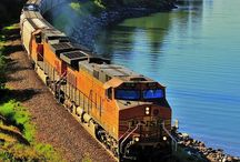 Trains / by Linda P