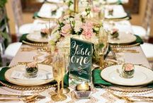 Receptions / Gorgeous ideas for reception layout, décor, linens, and more.