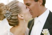 """Celebrity Wedding Inspiration / Dramatic stylings from famous brides who have said """"I do""""!"""