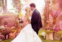 Fairy Tale Weddings / Inspiration for all the brides who just want to live happily ever after.