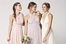 Pastel Inspiration / Soft, feminine hues and subtle shades of lovely for your bridesmaids and décor.