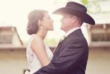 Western Weddings / Get hitched and ride off into the sunset using these fun western wedding ideas!