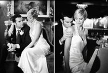 Old Hollywood Weddings / Celebrate with old-fashioned class, opulence, and glamour.