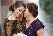 Mother of the Bride / Heart-warming photos with Mom that will make you reach for tissues.
