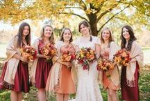 Fall Weddings / We've fallen in love with gorgeous autumn wedding ideas.