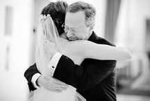 Father of the Bride / Heart-warming photos with Dad that will make you reach for tissues.