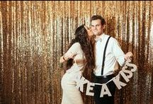 New Years Eve Weddings / Sparkle, glamour, champagne, and vows = an awesome way to ring in the New Year!