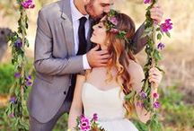 Garden Weddings / Lush, flower-filled outdoor weddings with a touch of romance.