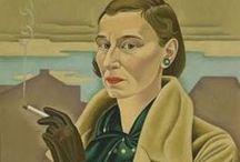 """""""ERMItage"""" / Ritratti e storie di pittrici che hanno lasciato il segno nella storia dell'arte.  ERMItage è una galleria virtuale: il nome, che è quello del noto museo di San Pietroburgo, assembla anche il mio: Ermi (come mi chiamano gli amici)."""