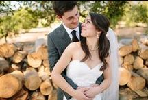 Rustic Weddings ♥ / If you're looking for wood signs, mason jars, and cute barn wedding ideas, this is the place to go!