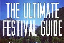 Festival Essentials / Stuff you can't live without at festivals. Fanny packs, checklists, cool stuff for camping, your festival house.. you know EVERYTHANG!!