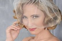 Spring 2014 Collection / Vintage beaded headbands, lovely pearl designs, and trendy Art Deco rhinestone styles make a splash in our new 2014 collection! Soft lace and flower headpieces exquisitely match romantic gowns for classic beauty.
