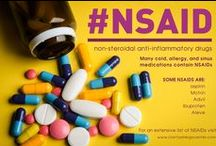 Aspirin and NSAID Allergies / Each day, millions of people take anti-inflammatory medications to treat a variety of medical disorders including pain, inflammation, heart disease, and fever.  NSAIDs are a major class of anti-inflammatory medications that include aspirin, Motrin, Advil, ibuprofen, and Aleve. NSAIDs have the potential to cause severe allergic reactions in a minority of people.  Some of the more common allergic reactions include: Hives, Anaphylaxis, and Precipitation of severe asthma attacks.