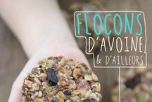 {My cookbooks} / Flocons d'avoine & d'ailleurs