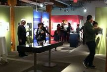 """Past Exhibit - Empty Bowls / """"Working Together / Everyone Eats : 25 Years of the Empty Bowls Project"""" : March 24- July 2, 2015 : New Exhibit Celebrating The Empty Bowls Project : Tues - Sat 10 am - 5 pm"""