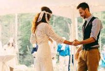 Bohemian Bride / Beautiful styles for the free-spirited, alternative bride.