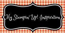 Stampin Up! Inspiration / Leuke ideetjes met producten van Stampin Up!