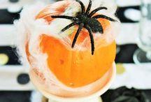 celebrate...HALLOWEEN / Süßes oder Saures? Ideen für Deko, Sweet-Table, DIY's, Party, Kürbsse, Verkleidung, Leckeres und schaurige Drinks! // Trick or Treat? ideas for decorations, sweet tables, DIY's, Halloween Parties, pumpkins, costumes, yummy creepy Drinks and food!