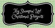 My Stampin' Up! Christmas Projects / stampin up, stampin sacha, sacha van de kerkhof, projects, christmas, projecten, kerstmis