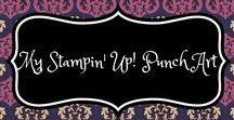 My Stampin' Up! Punch Art / Punch art met de producten en punches van Stampin' Up!.