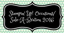 Stampin' Up! Occasions / Sale-A-Bration 2016