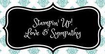 Stampin' Up! Love & Sympathy / stampin up, love, friendship, condolences, thinking of you, liefde, vriendschap, condoleance, ik denk aan je