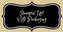 Stampin' Up! Gift Packaging / stampin up, gift packaging, gift box, treat box,  box, cadeau verpakking, cadeau doosje, doosje