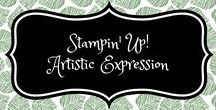 Stampin' Up! Artistic Expression / stampin up, artistic expression, artistieke expressie