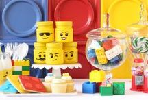 party like...LEGO // LEGO THEMED PARTY / Ideen für eine Lego Mottoparty, Kindergeburstag Jungen, Partydeko, den gedeckten Tisch, Sweet-Table und Candy-Bars, Leckeres/Partyfood und Rezepte, Gastgeschenke und schöne Sachen!   Ideas for a Lego themed Party, boys Kids birthday, Party decorations, table Settings, sweet table and candy bars, gifts, Party Food and Drinks, fun (lego) stuff!